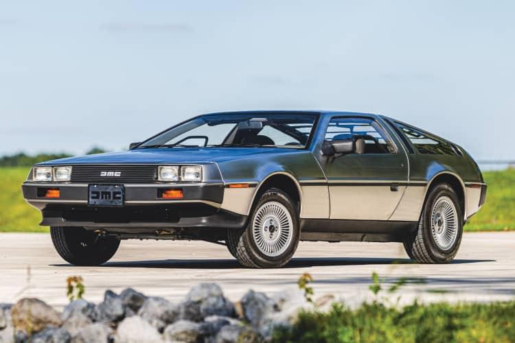 Coolest 80s car DeLorean DMC-12