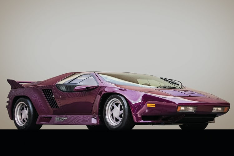 Vector W8 cool 80s cars