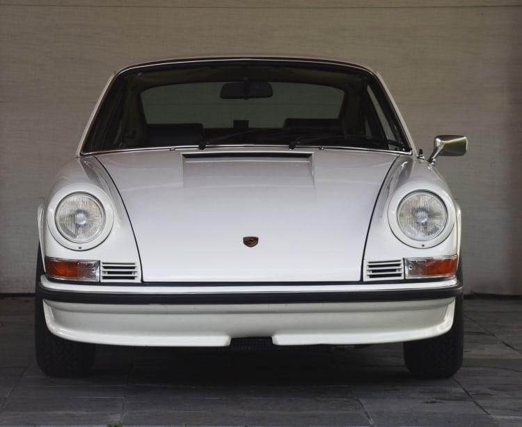 front of  Porsche 911