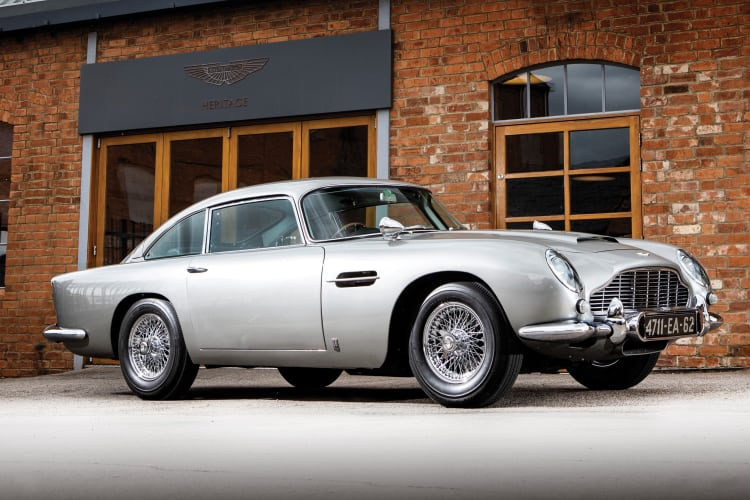 Aston Martin DB5 is one of the best British Sports cars