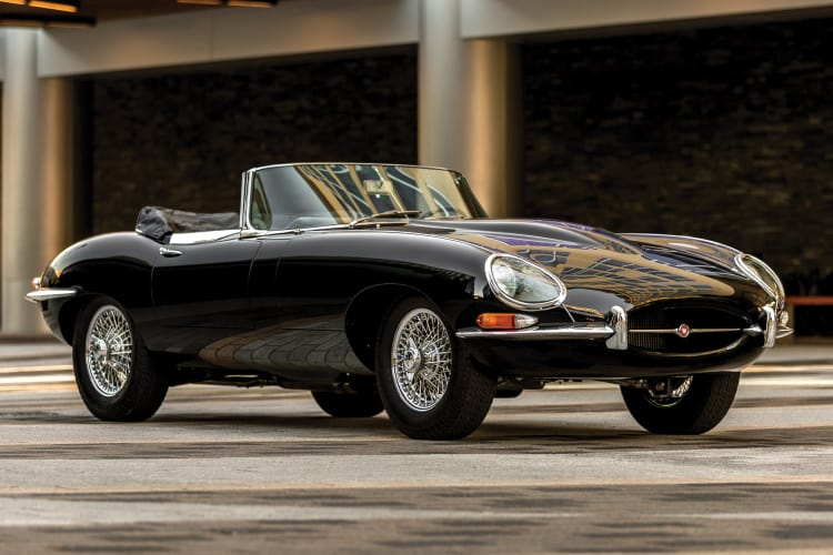 Jaguar E-Type is on the list of best British Sports cars