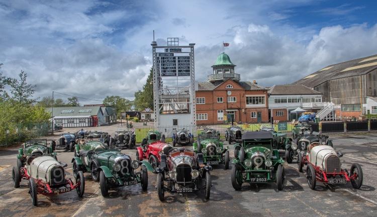 Bentley celebrate 100 year racing win