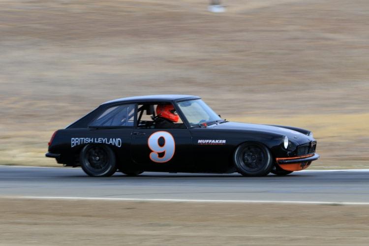 #9 1966 MG Driver Ed Lamantia