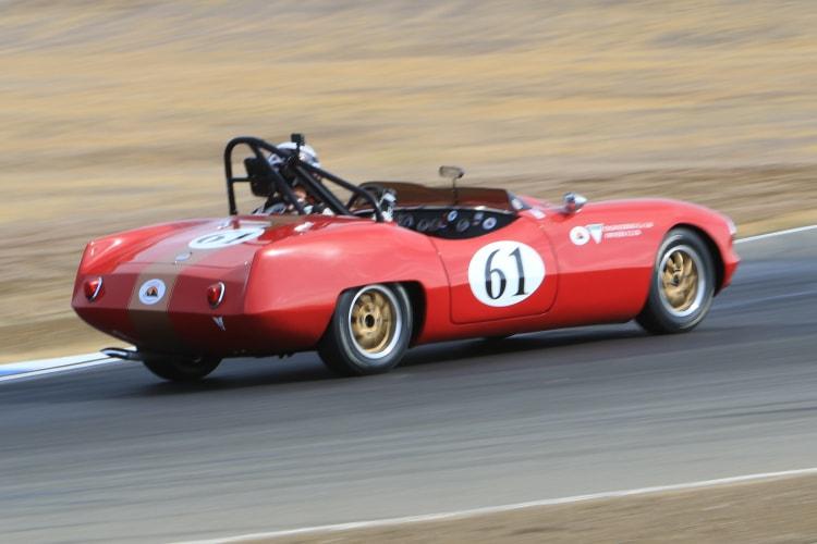 #61 1961 Elva Driver Paul Hoffman