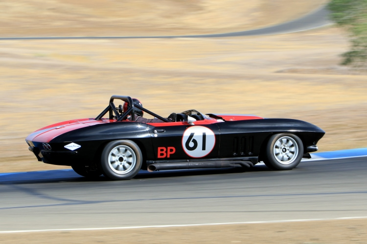 #61 1965 Corvette Driver Larry Savio