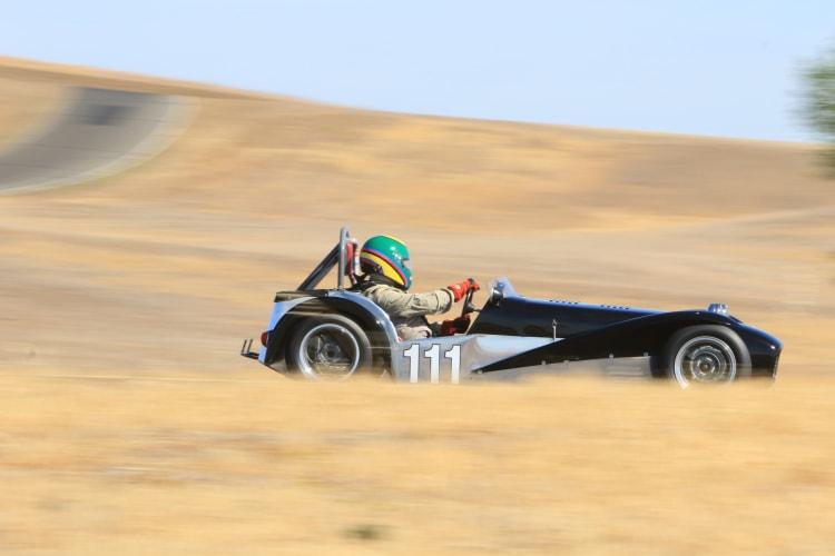 1967 Lotus Seven. Driver Michael Taradash