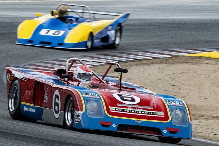 """Fast"" Danny Baker – 1973 Chevron B23 in turn five Sunday"