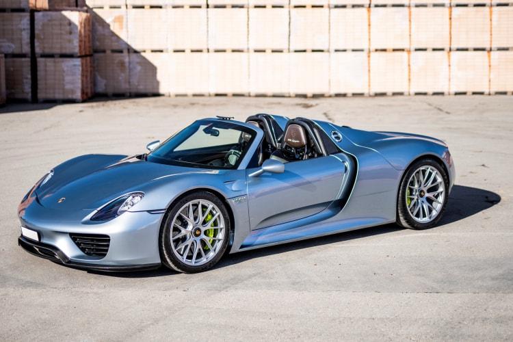 Fastest Porsche thats street legal is the 918 Spyder