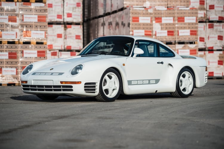 Number 3 fastest porsche is the 959 S