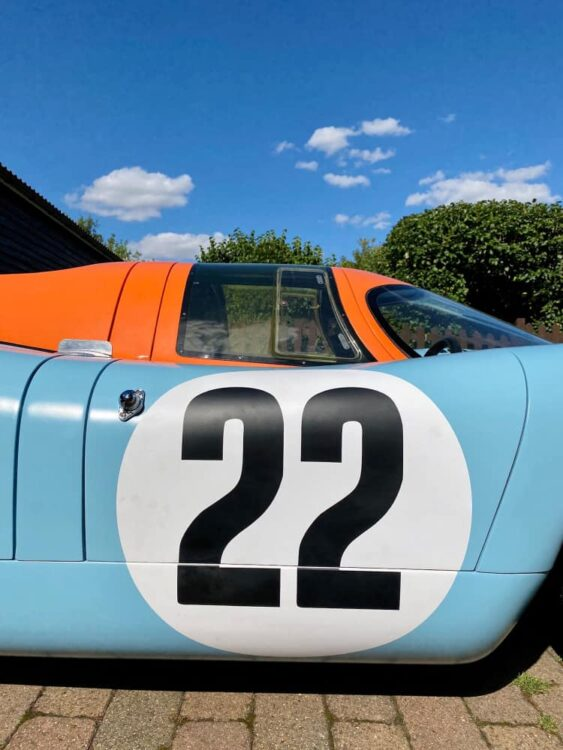 1970 Porsche 917K number 22