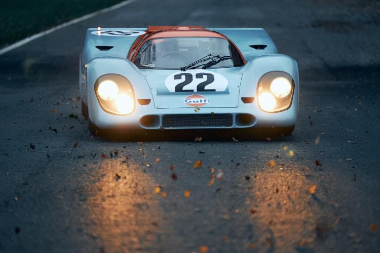 front of the 1970 Porsche 917K