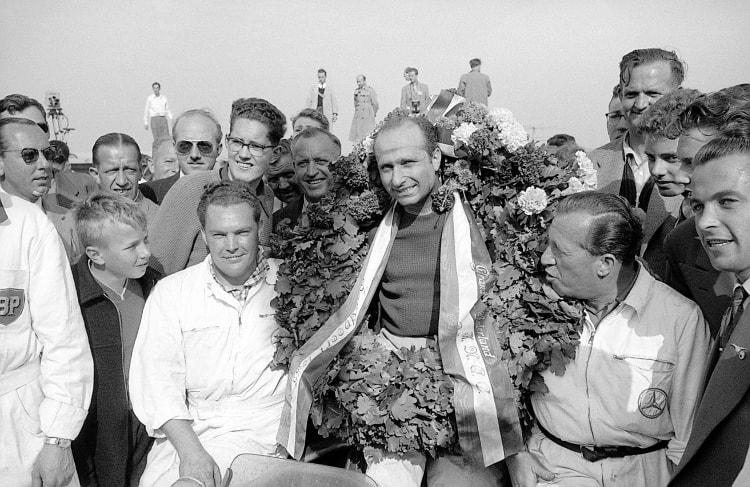 Juan Manuel Fangio won the Dutch Grand Prix