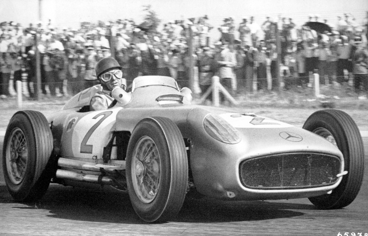 Winner of the 1955 Argentine Grand Prix,