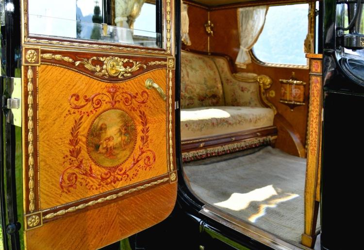 interior of 40/50HP Phantom I Brougham De Ville