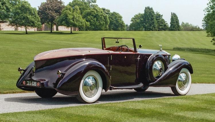 coachwork of Rolls Royce