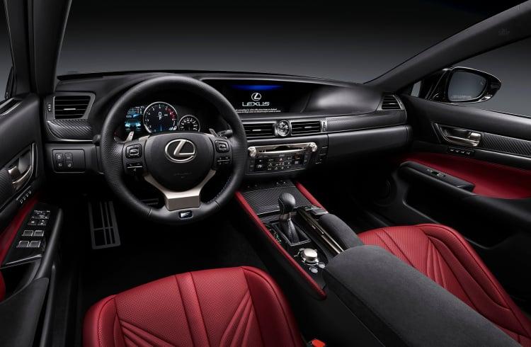 interior of the GS F
