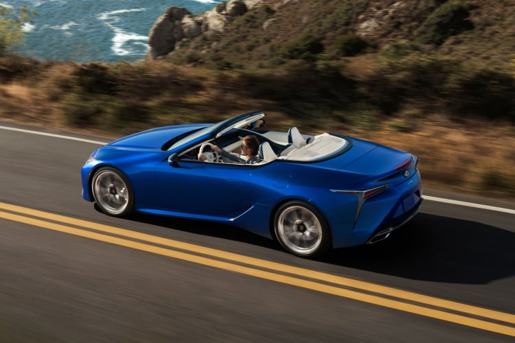 2021 LC 500 Convertible Inspiration Series