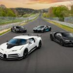 Bugatti Most Exclusive Development Lineup Head to the Nürburgring