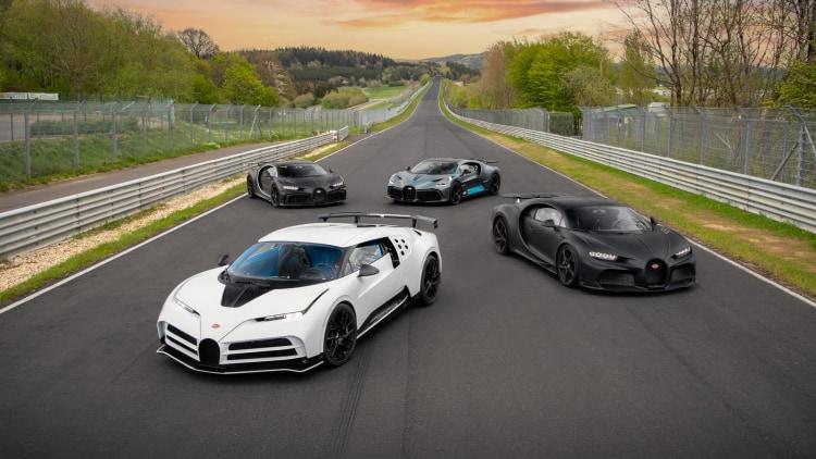 Bugatti Line Up