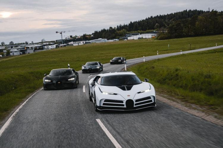 Bugatti hyper cars