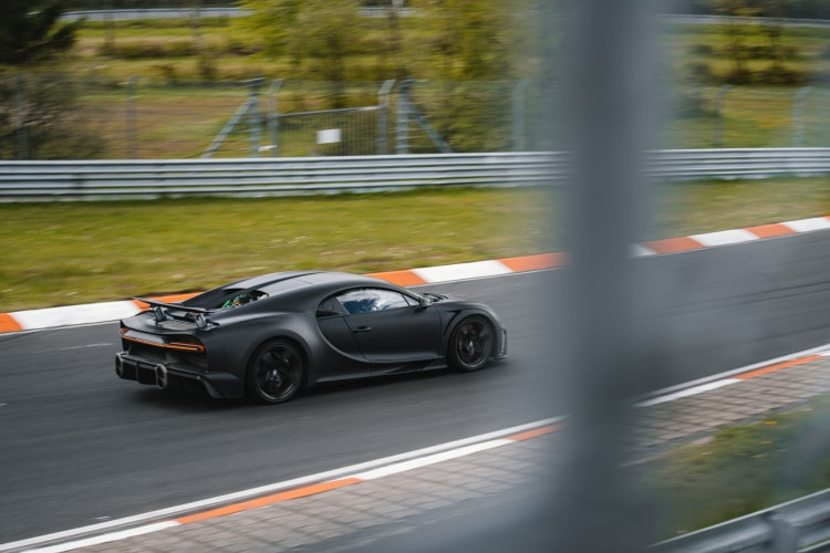 Chiron Super Sport 300+ being tested