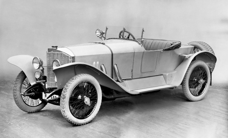 Mercedes 28/95 hp Sport with a two-seater body