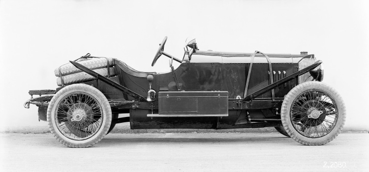Mercedes 28/95 hp Sport with a racing two-seater body