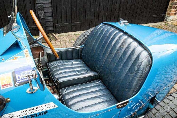 cockpit of 1927 Bugatti Type 35B Grand Prix Two-Seater