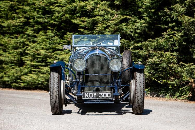 front of 1927 Bentley