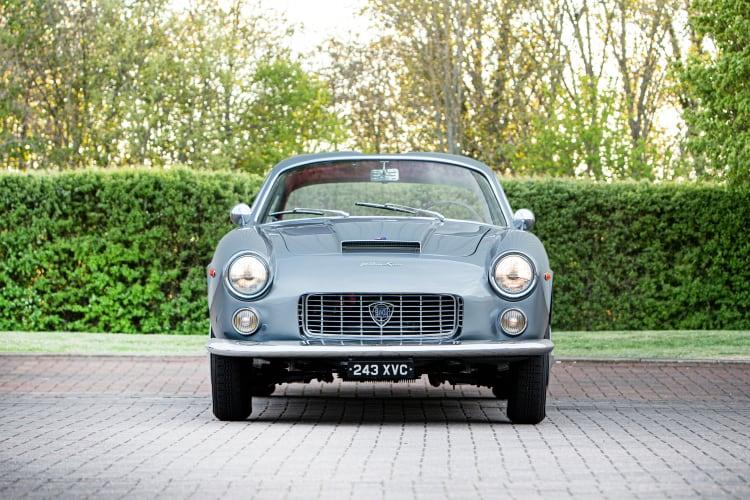 front of 1962 Lancia Flaminia Sport 3C