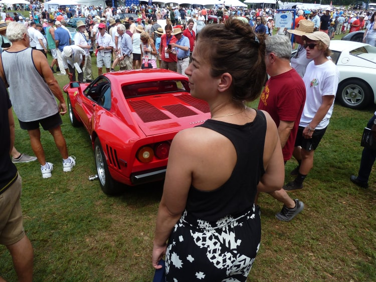 288 GTO and spectator