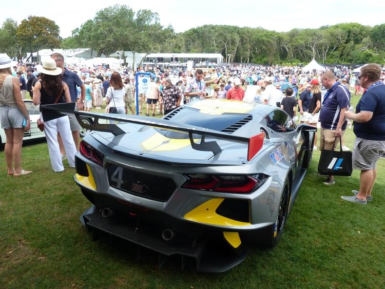 Corvette C8R racer