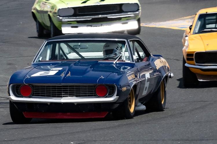 #6-Bill Ockerlund - Holland, MI  1969 Sunoco Camaro - Originally Driven by Mark Donohue and Milt Minter