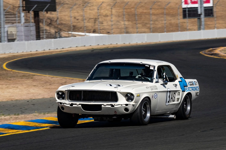 #13 Ryan Turri - 1967 Ford Mustang
