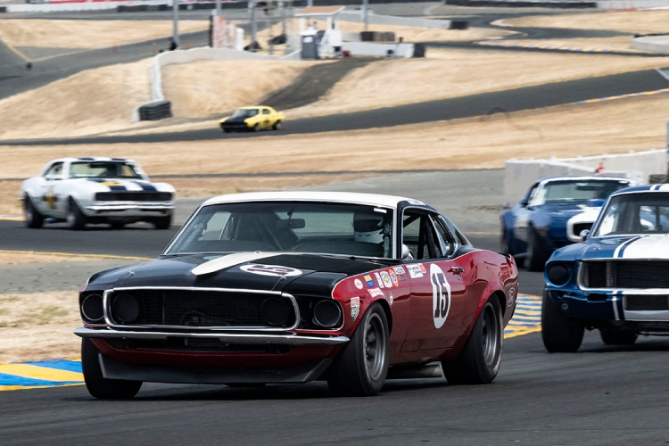 #15-Jeff O'Neill - Larkspur CA 1969 Ford Boss 302 Mustang -Originally Driven by Parnelli Jones and George Follmer