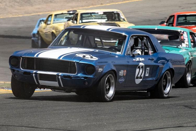 #22-Karman Cusack - Conifer, Colorado 1968 Mustang  Originally driven by Bill Maier