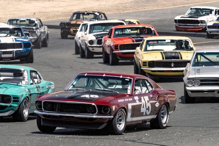 #45 Ken Adams - Gilroy, CA  1969 Boss 302 Ford Mustang