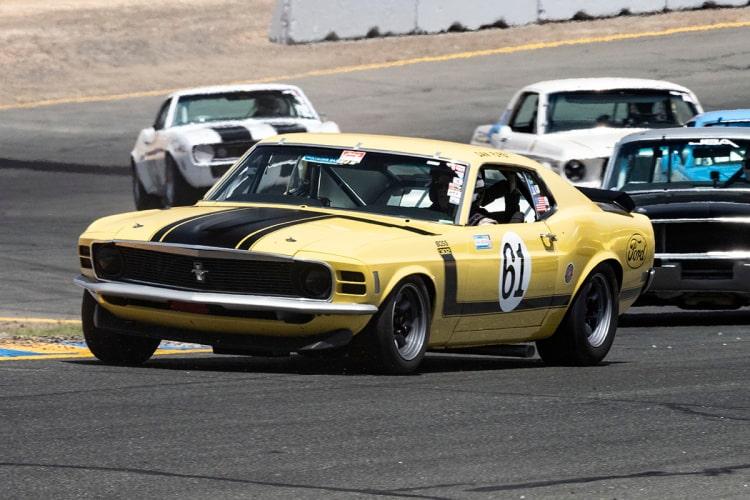 #61-Jim Halsey - Los Angeles, California 1970 Boss 302 Mustang  Originally driven by Dan Furey.