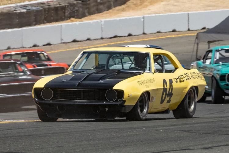 #64-Chad Raynal - San Jose, California 1969 Chevrolet Camaro Z/28  Originally driven by Richard Sterbins and William MacFarlane