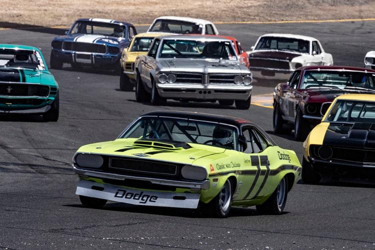 #77- Richard Goldsmith - Belllingham, Washington 1970 Trans Am Dodge Challenger Originally Driven by Sam Posey