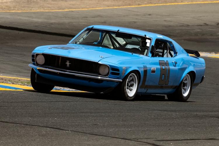 #81 Robert Canepa - 1970 Ford Mustang