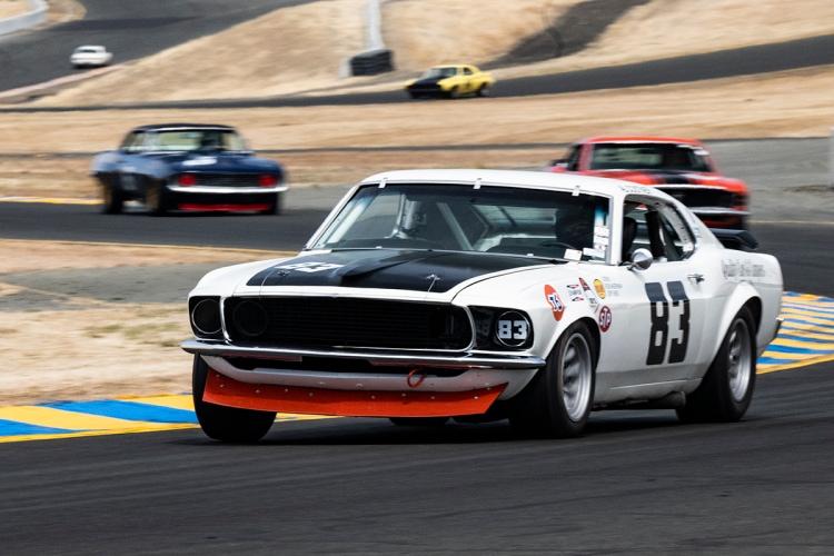 Kevin Sittner - 1969 Boss 302 Mustang #83  Originally driven by Al Costner