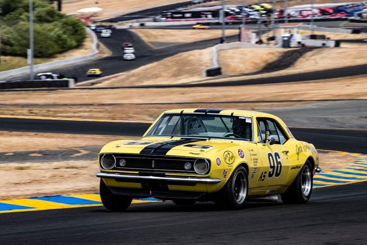 Rick Jeffery - Diablo, California #96-1967 Chevrolet Camaro