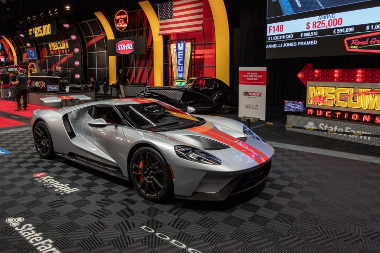 2019 Ford GT at Mecum Indy 2021