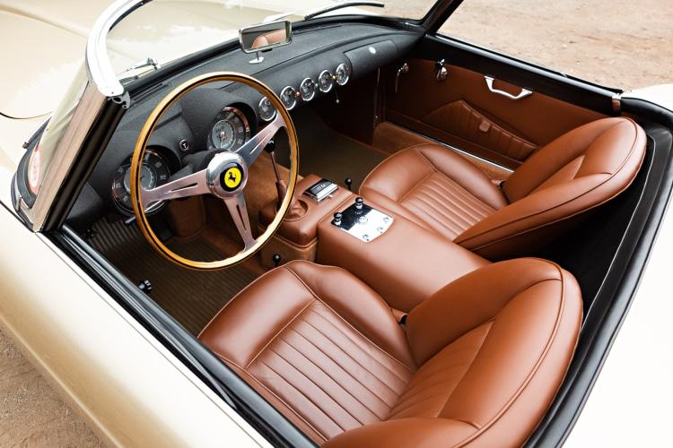 interior of 1958 Ferrari 250 GT Series I Cabriolet