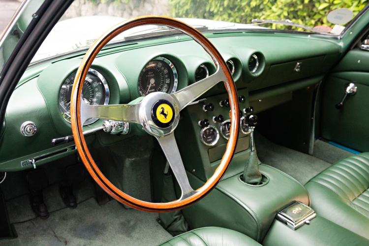 interior of 1962 Ferrari 400 Superamerica LWB Coupe Aerodinamico