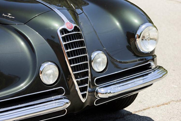 front of 1949 Alfa Romeo 6C 2500 Villa d'Este