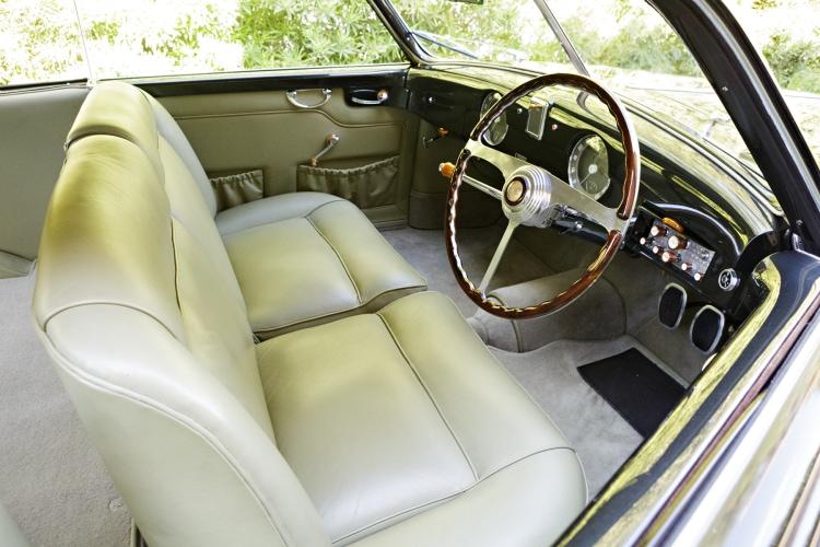interior of 1949 Alfa Romeo 6C 2500 Villa d'Este