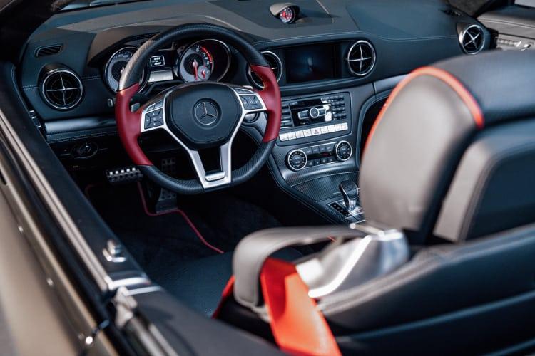 R 231 interior