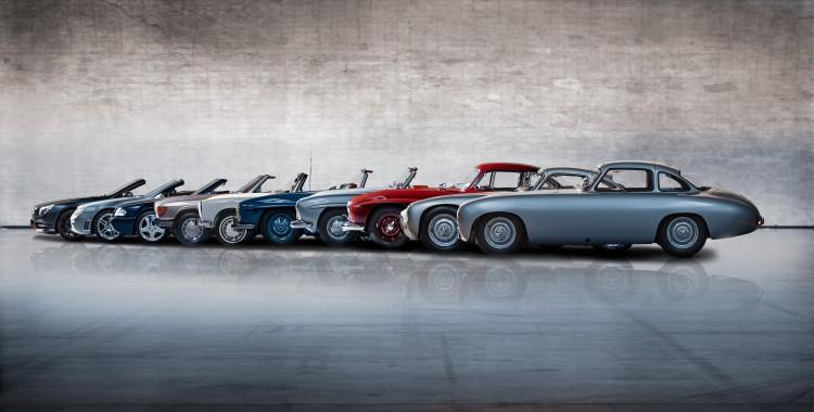 Mercedes SL line-up